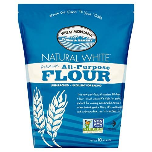 (2 Pack) Wheat Montana Premium All-Purpose Flour, 10 lb