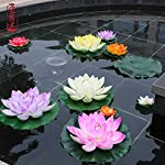 2PCS-10CM-18CM28CM-Artificial-Fake-Lotus-Flower-EVA-Lotus-Flowers-Water-Lily-Floating-Pool-Plants-Wedding-Garden-DecorationGreen-Lotus-Leaf28CM