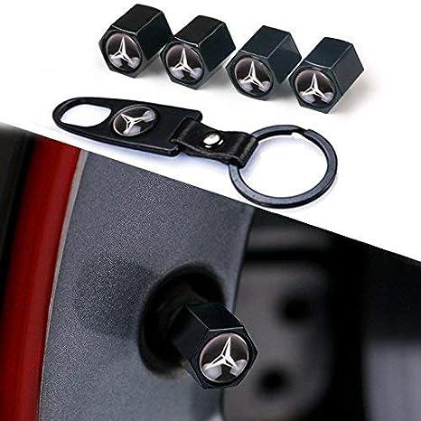 BMW Popluxy BMW Ventilkappen Alloy Reifenventil Vorbauten Staubschutz Car Rad Ventilkappen mit Schl/üsselanh/änger,Universal Passt f/ür Fahrrad Motorrad /& Auto Reifen Ventilkappen