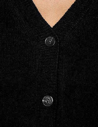 L Colors of Black S Donna United Benetton Cardigan 100 Nero AtRAT
