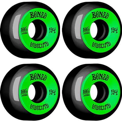 品質一番の Bones 100's V5 Bones OG サイドカット#2 54mm ブラック OG グリーンホイールセット 54mm B07PDLMYRN, パーツジャパンサービス:40514cb1 --- mvd.ee