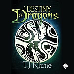 Audio Book Review: A Destiny of Dragons (Tales from Verania #2) by TJ Klune (Author) & Michael Lesley (Narrator)