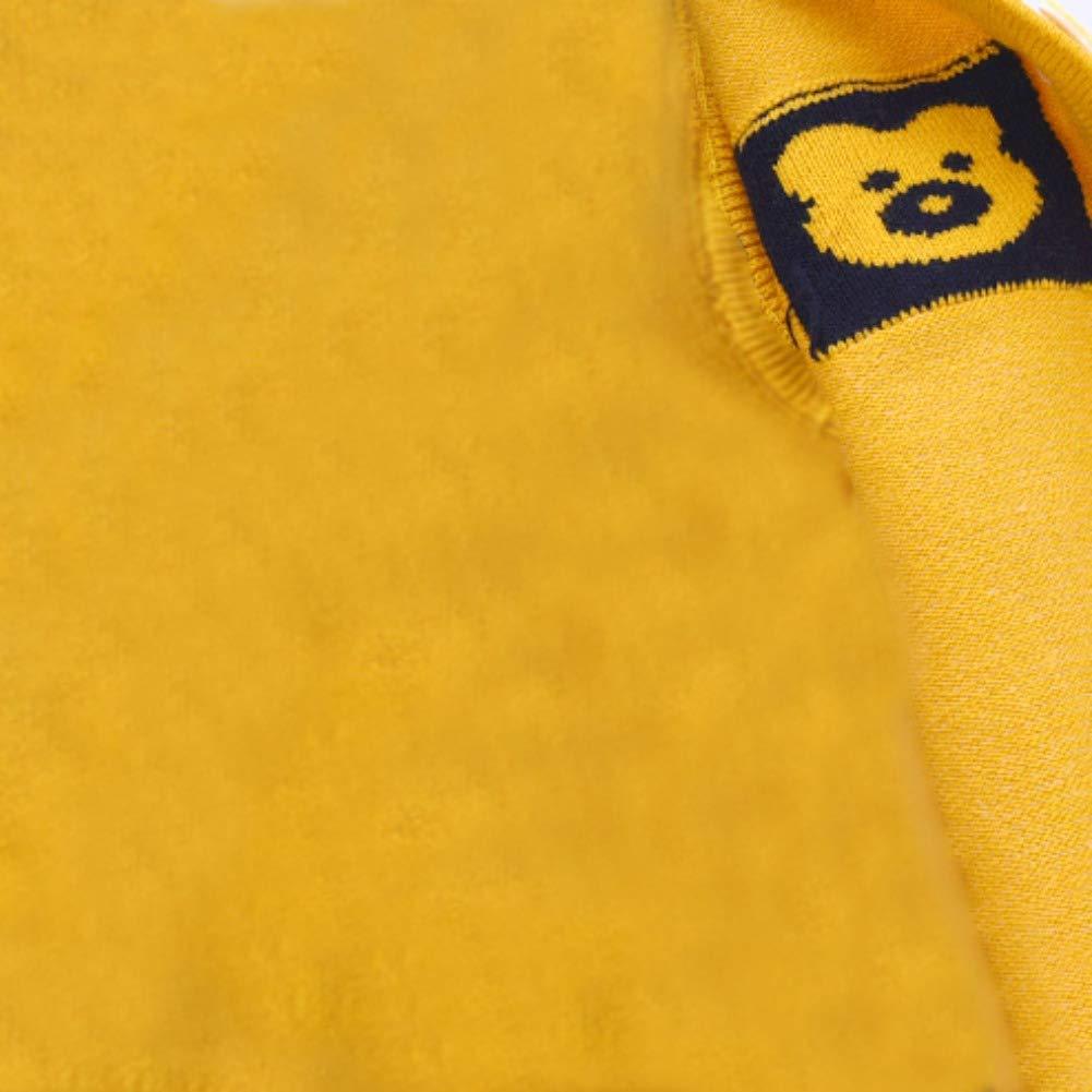 URMAGIC Infant Baby Boys Girls Knitted Sweater Newborn Sleeveless Cute Cartoon Pattern Vest Gilets Tank Top 0-6 Months