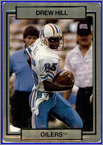 1990 Action Packed #94 Drew Hill RIP HOUSTON OILERS GEORGIA TECH YELLOW JACKETS 1990 Georgia Tech Yellow Jackets