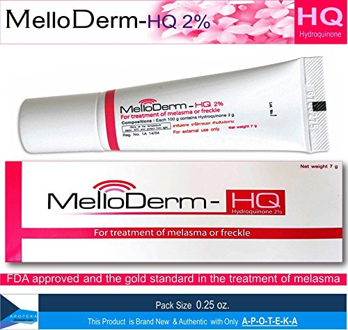 Melloderm-Hq 2% Once Daily at Night  Active Ingredient