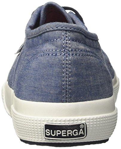 Uomo Cotm Indigo Lt A Superga 2750 Collo Sneaker italianshirt Blue Basso BwE0EqS