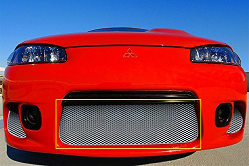1997-1999 MITSUBISHI ECLIPSE (ALL Models) LOWER GRILLE (Aluminum Silver)