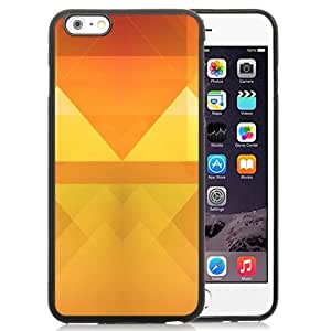 New Personalized Custom Designed For iPhone 6 Plus 5.5 Inch Phone Case For Abstract Orange Triangles Phone Case Cover wangjiang maoyi by lolosakes
