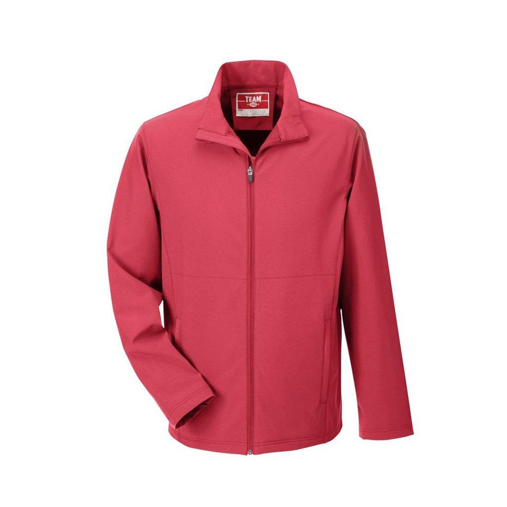Ash City Apparel Team 365 Mens Leader Soft Shell Jacket (X-Small, Sport Red)