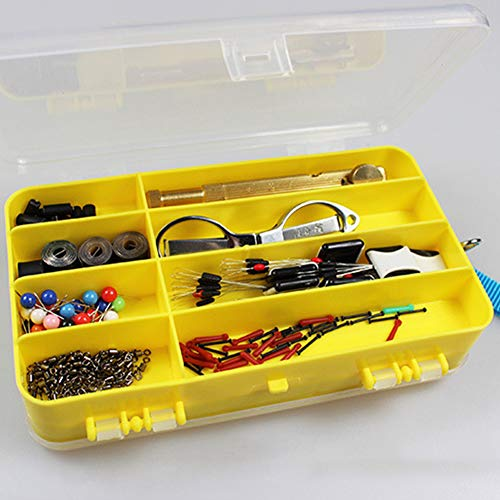 aXXcssqw9bMulti Grids Double Sided Fishing Lures Tackle Hooks Baits Box Storage Case