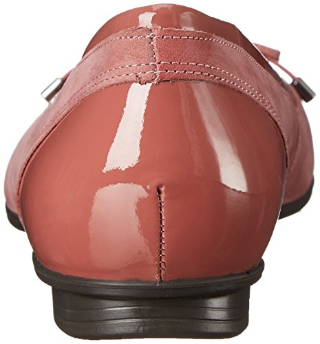 59524 Donna petal Touch ECCO Ballerine Petal Rosso wRnfq