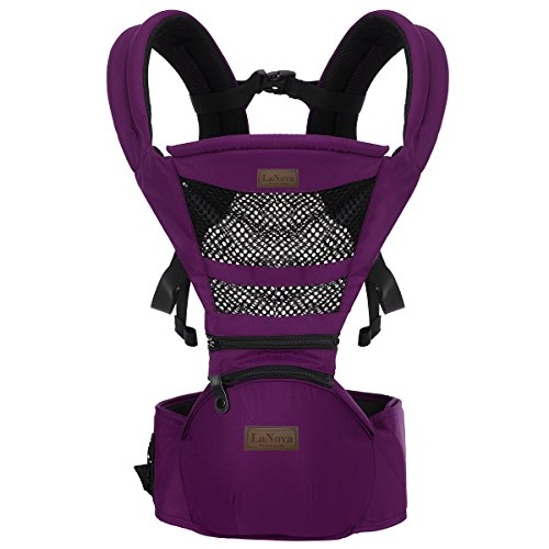 Baby Carrier BEST for Newborn Child Backpack Kangaroo Carry Safer NOW 360° Ergonomic Baby Child Carrier The COMPLETE Original --Purple