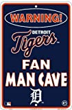 Detroit Tigers Fan Man Cave Sign 8 X 12