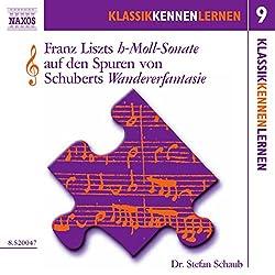 Die h-Moll-Sonate von Liszt auf den Spuren von Schuberts Wandererfantasie (KlassikKennenLernen 9)