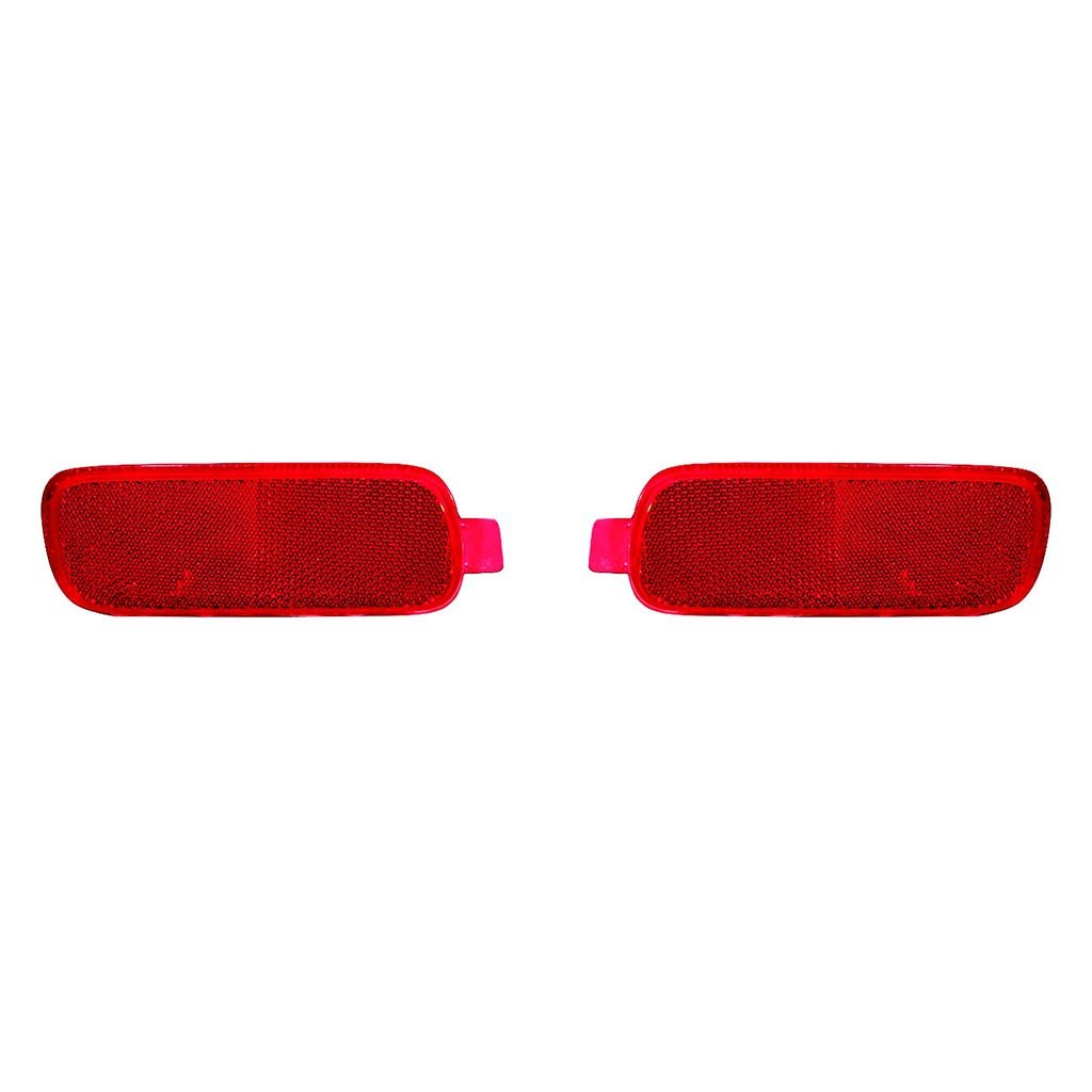 Fits Honda CRV 02-04 Rear Reflector Assembly Unit Pair Driver and Passenger Side (NSF Certified) by Carlights360