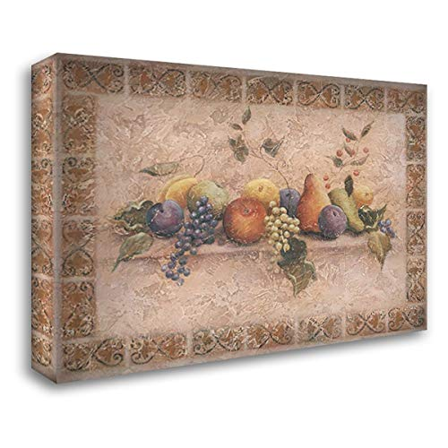 A Tuscan Palette 24x19 Gallery Wrapped Stretched Canvas Art by Demarco, Fiona