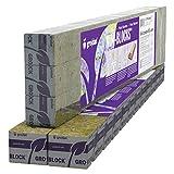 Grodan 1.5'' x 1.5'' x 1.5'' Mini Blocks Grow Media Rockwool Stonewool Cube Propagation Pack of 45
