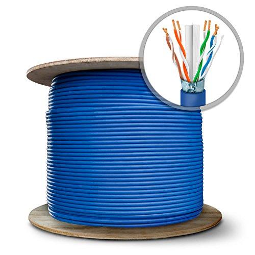 GearIT 1000 Feet Bulk Cat6 STP Ethernet Cable - Stranded ...