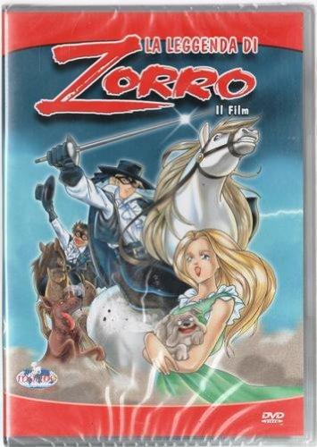 La leggenda di zorro il film: amazon.it: cartoni animati: film e tv