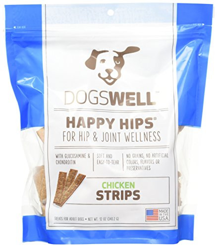 Happy Hips Strips Chicken, 12-Ounce
