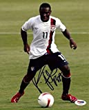 Freddy Adu Autographed Picture - Authentic 8x10 Team USA - PSA/DNA Certified - Autographed Soccer Photos