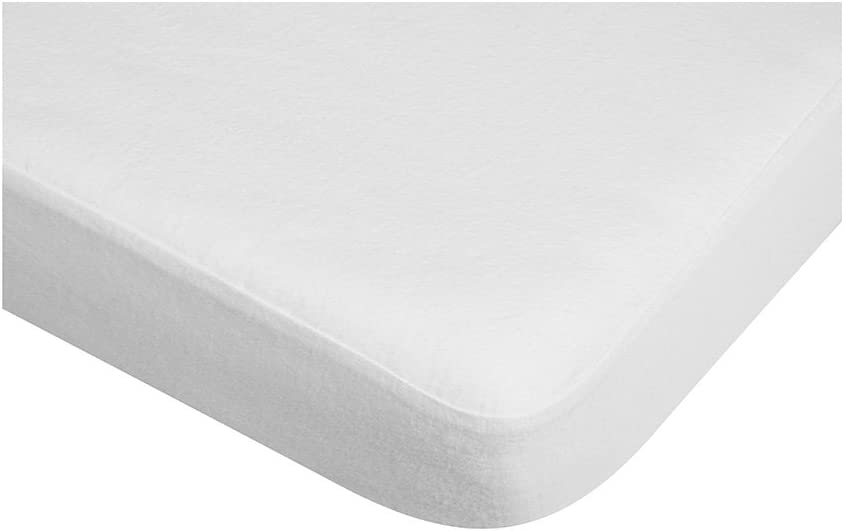 Playshoes 60 x 120cm Fitted Sheet Mattress Protector Waterproof and Breathable Oeko-Tex Standard 100