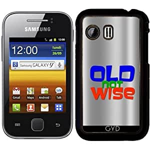 Funda para Samsung Galaxy Y (S5360) - Edad, No Sabia by hera56
