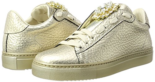 Women''s Low platino Sneakers Gold top Stokton pqOnCUBd