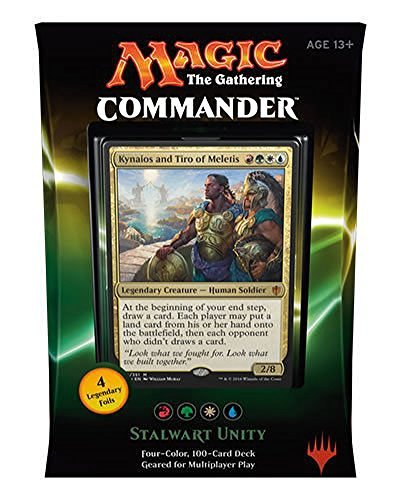 Magic the Gathering Commander 2016 Deck - Stalwart Unity (RGWU)