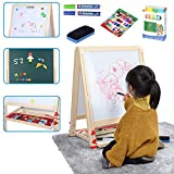 Best Toddler Easels - LINAZI Kids Standing Art Easel with Three Paint Review