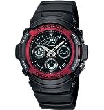 [カシオ]CASIO G-SHOCK(Gショック)腕時計 海外モデル デジアナウォッチ AW-591-4ADR レッド[並行輸入品]