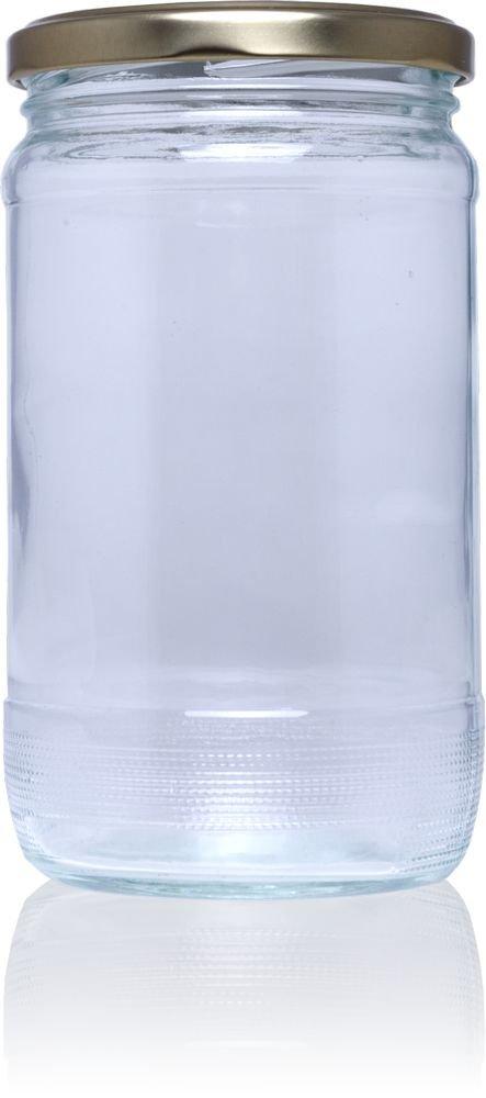Frasco de vidrio conservas N 720 ml - Pack 40 u. Tapas Rioja