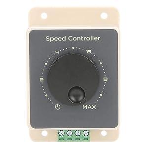 12V / 24V / 36V / 48V 20A Interruptor de control de velocidad del motor de alta potencia, PWM Controlador de velocidad del motor del regulador de motor DC con arranque
