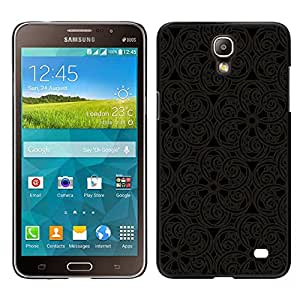 Stuss Case / Funda Carcasa protectora - Pattern Oriental Carving Lace Interior Design Art - Samsung Galaxy Mega 2