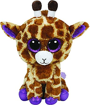 Ty - Safari, peluche jirafa, 40 cm, color amarillo (36801TY): Amazon.es: Juguetes y juegos