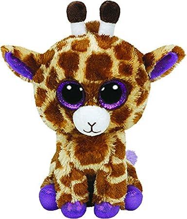 Ty Beanie Boos - Jirafa de peluche Safari con anilla - Peluche Llavero Beanie Jirafa 10cm, Juguet Peluche A partir de 10 años: Amazon.es: Juguetes y juegos