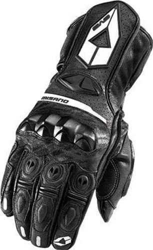 EVS Misano Sport Glove , Gender: Mens/Unisex, Primary Color: Black, Size: XL, Apparel Material: Leather, Distinct Name: Black 612106-0105 by EVS