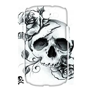 TOSOUL Sugar Skull Customized Hard 3D Case For Samsung Galaxy S3 I9300