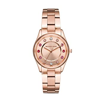 fa87d5ff3f11 Amazon.com  Michael Kors Women s Colette Rose Gold Tone Stainless Steel  Watch MK6604  Watches