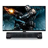 FidgetFidget Home Theater TV Sound Bar Subwoofer Soundbar with Bluetooth Wireless / 3.5mm AUX