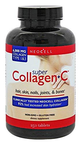 (Super Collagen +C Tablets 6000 Mg. - 250 Tablets )