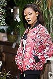 Bomber jacket / African print bomber jacket / ankara print bomber jacket / multi colour jacket - metallic pink