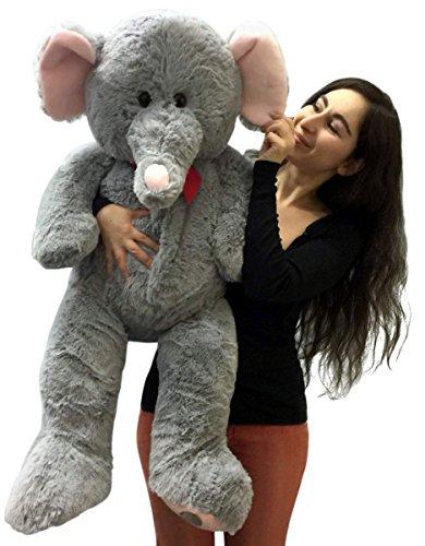3 Foot Giant Stuffed Elephant 36 Inch Soft Big Plush Stuffed Animal
