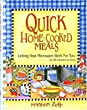 img - for Quick Home-Cooked Meals: Letting Your Microwave Work for You by MaryAnn Zepp (2003-12-25) book / textbook / text book