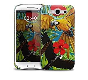 tropical parrot Samsung Galaxy S3 GS3 protective phone case