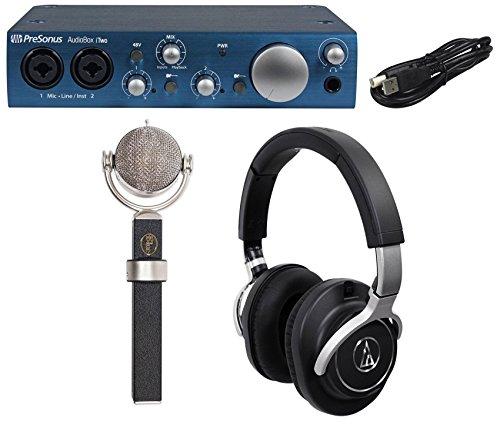Blue Dragonfly Studio Condenser Microphone+Audio Technica He