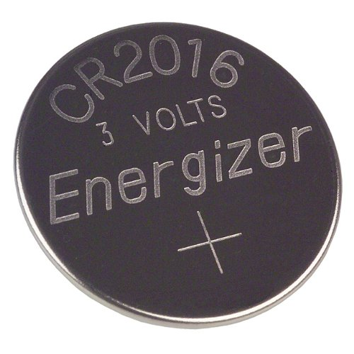 "(2-Pak) Directed Electronics 600T 3 Volt Lithium ""Button"" Battery for Remote Controls and other uses CR 2016"