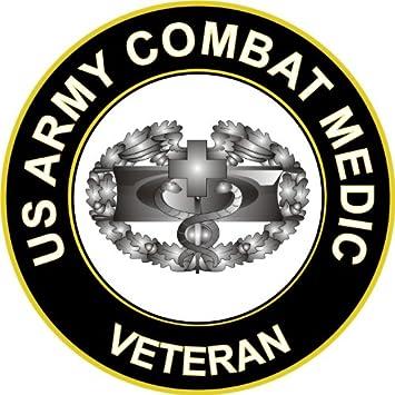 Amazon 38 Us Army Combat Medic Veteran Decal Sticker Automotive