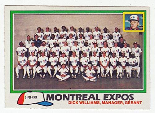 Montreal Expos (Baseball Card) 1981 O-Pee-Chee # 268 NM/MT