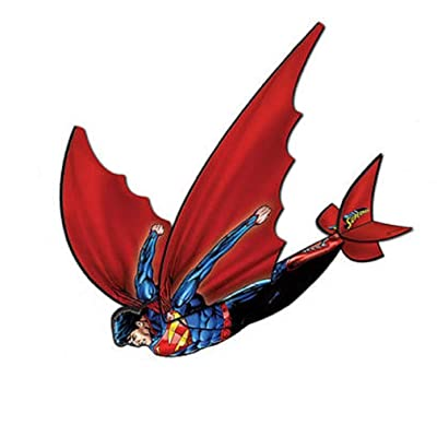 Flexwing 3-d Nylon 16-inches Glider Superman by X-Kites: Toys & Games
